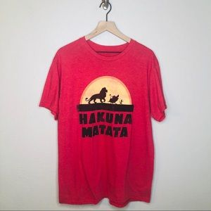Disney's The Lion King Hakuna Matata T-Shirt
